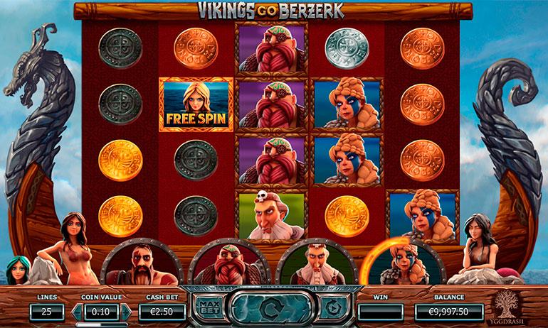 игровой автомат Vikings Go Berzerk онлайн
