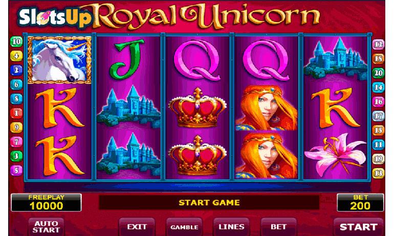 игровой аппарат Royal Unicorn